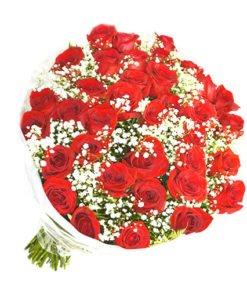 floricultura online e entrega de flores - paixão de rosas vermelhas 36 unid