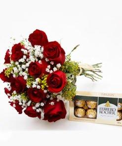 Buquê de rosas entrega de flores e floricultura online